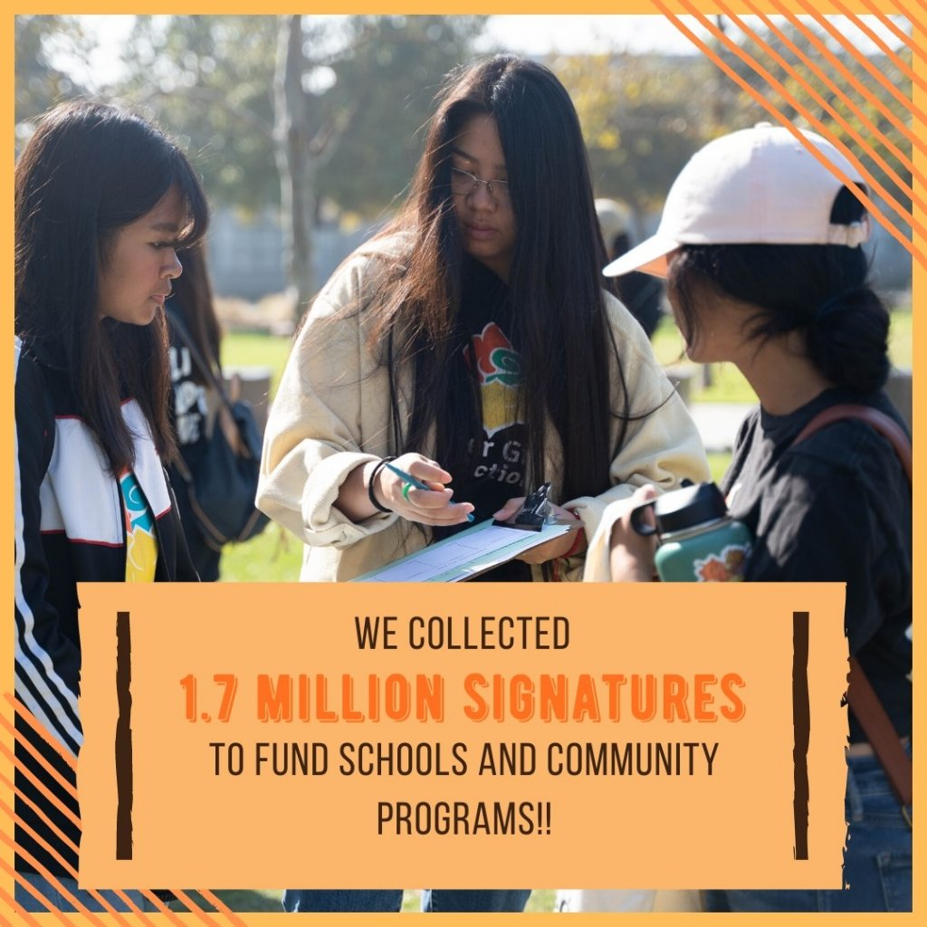 AAPI FORCE-EF Coalition Takes Part in Historic Schools & Communities First Ballot Initiative