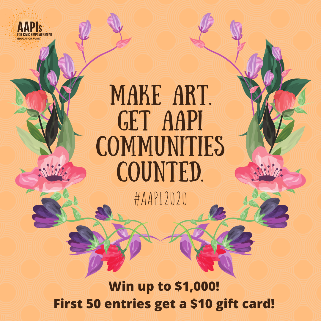 Call for entries: Get out the AAPI Count Art Contest!
