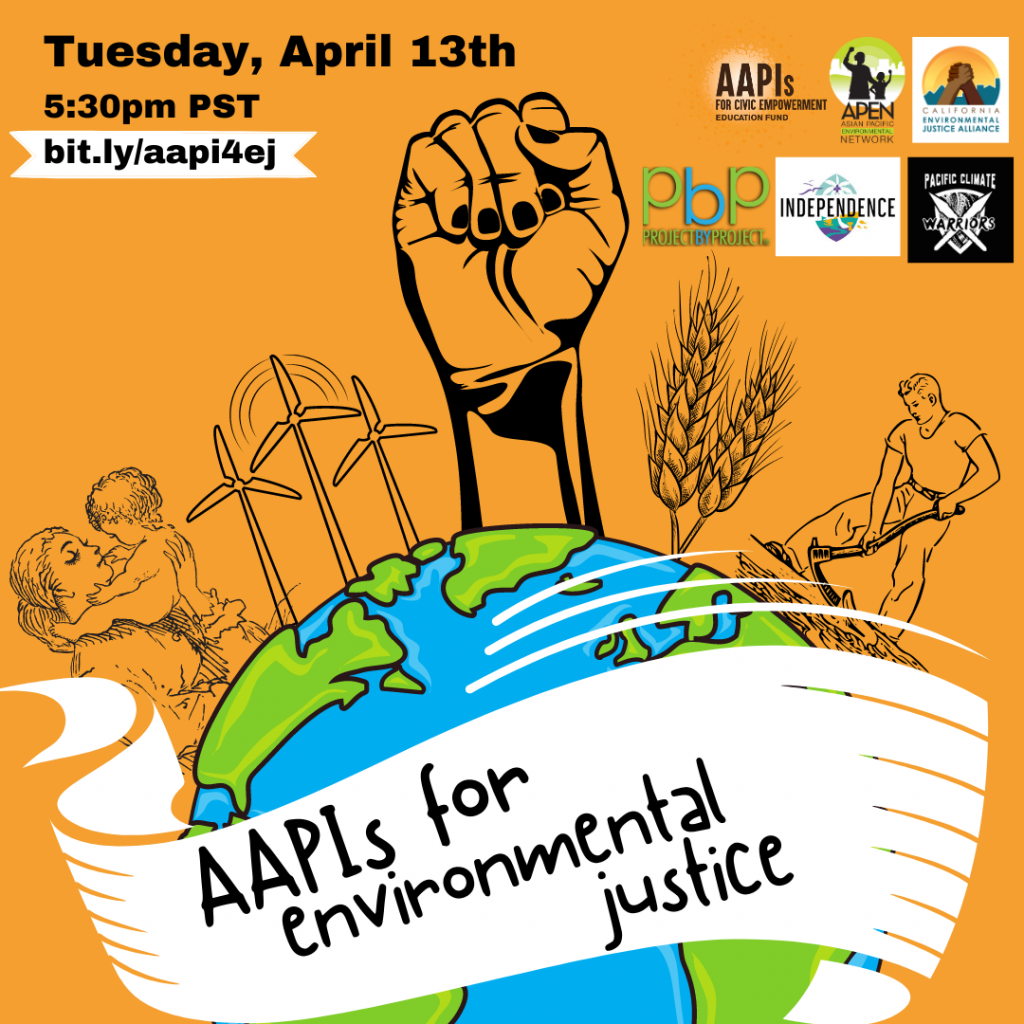Event: AAPIs 4 Environmental Justice